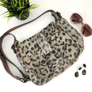 3.1 PHILLIP LIM Edie Bow Bag Leopard Suede